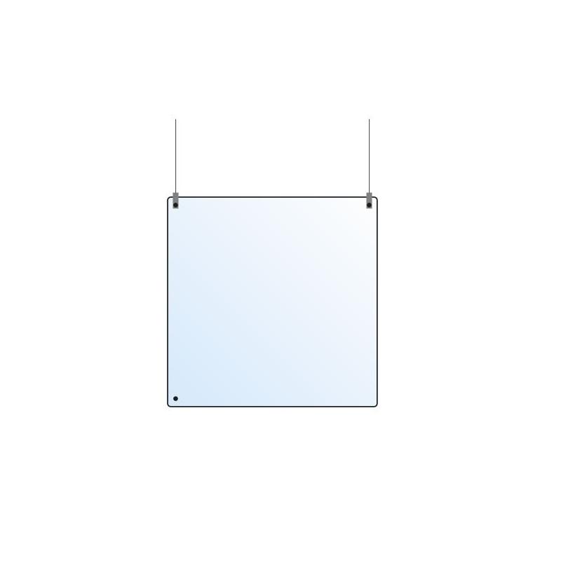 Deckenschutz, 800x800x4 mm