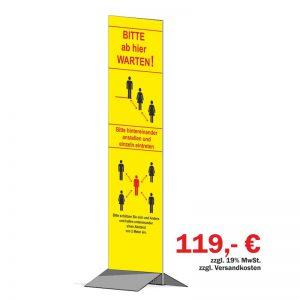 Kunden-Infosystem, 140x40 cm